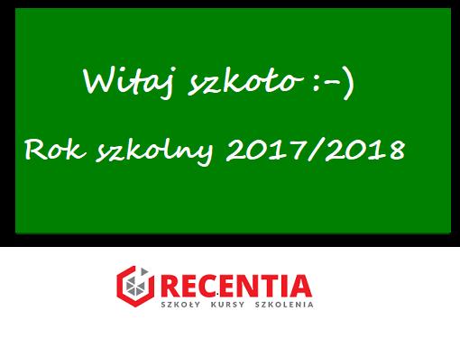 rok szkolny 2017-2018